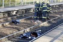 Muž v Pardubičkách skočil pod vlak. Střet nepřežil.