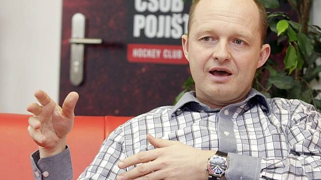 Ondřej Šebek, generální manažer HC ČSOB Pojištovna Pardubice