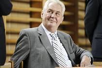 Miloš Zeman na pardubickém Gymnáziu Dašická