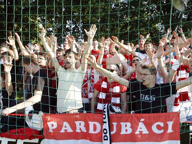 Pardubičtí fotbaloví fanoušci
