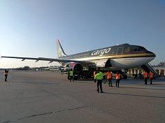 Nákladní fešák. Airbus A310 jordánského letectva se v Pardubicích objeví ještě čtyřikrát.