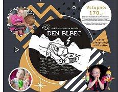 Den blbec podpoří čtyřletou Elišku Novotnou.