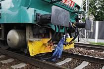 Vlak srazil muže mezi Černou za Bory a Pardubicemi