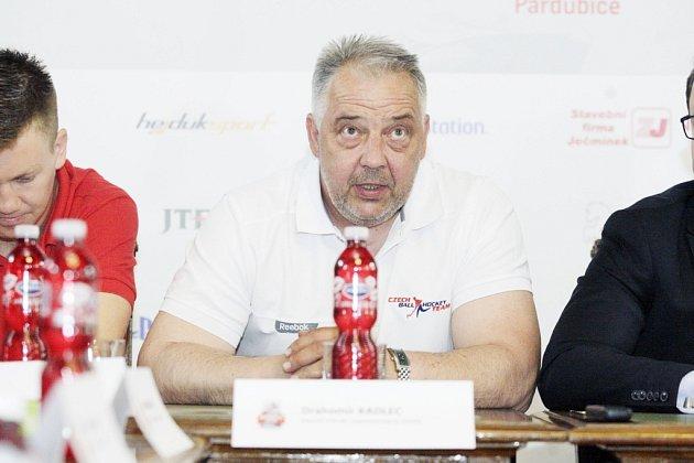 DRAHOMÍR KADLEC povede jako hlavní trenér mužskou hokejbalovou reprezentaci na domácím mistrovství světa.