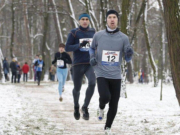 V dukelském lesoparku se konal 13. ročník Mikulášského běhu, který opět uspořádala pardubická Hvězda.