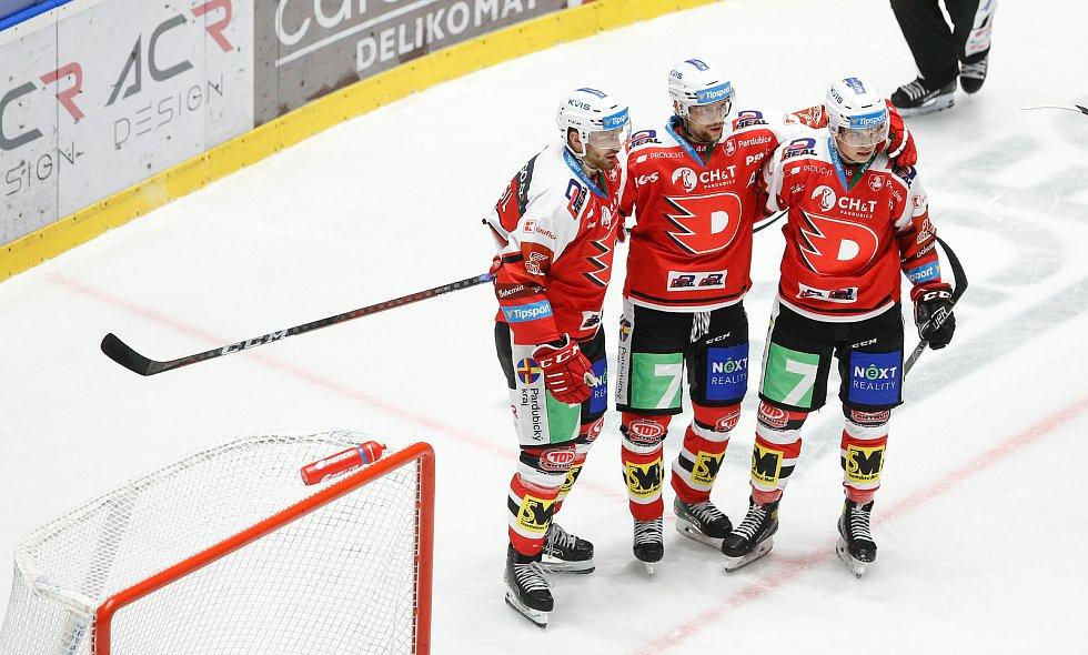 Hokejová Tipsport extraliga - 3. kolo: HC Dynamo Pardubice - HC Sparta Praha