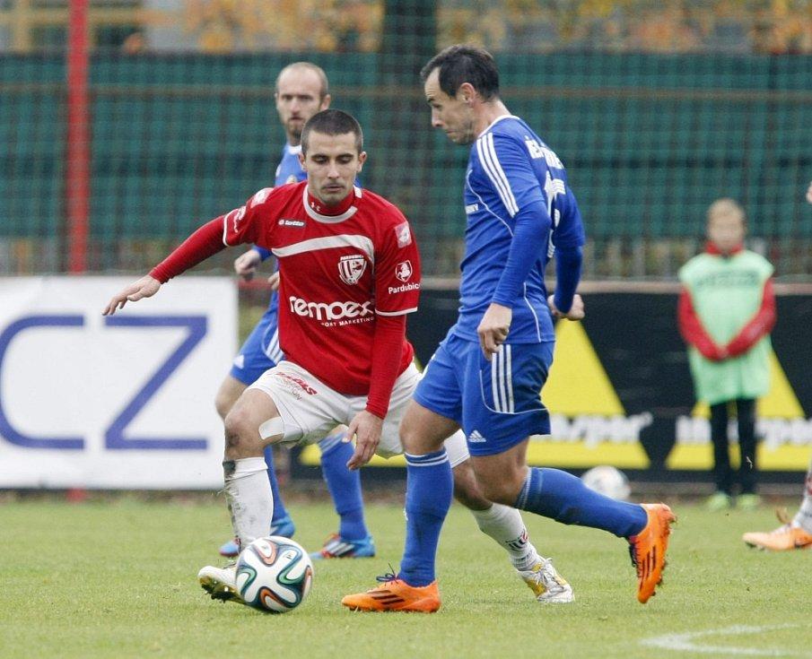 FK Pardubice - FK Fotbal Třinec 1:0