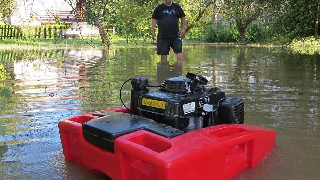 Povodeň v Dolní Rovni