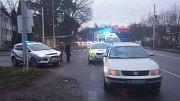 Nehoda na přechodu v Rybitví. Řidička srazila 15letého chlapce.