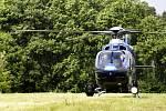 Cvičení Záchrana 2010. Na pomoc přiletěl i vrtulník s termovizí a kamerou