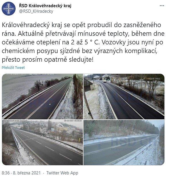 Twitter ŘSD Královéhradeckého kraje