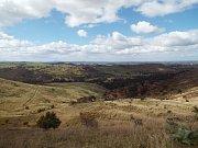 Překrásné panorama na východě Austrálie.
