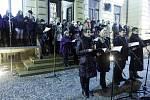 Štědrovečerní procházka Pardubicemi