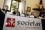 V nově vznikající Obecně prospěšné společnosti Societas figurují i jména jako Jan Linhart nebo senátor Vladimír Dryml.