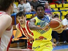 Basketbalový zápas: Ústí nad Labem vs. Pardubice