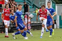 Fotbalové utkání FK Pardubice - FK Mladá Boleslav