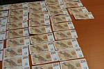 Padělaných bankovek vyrobili dva kamarádi na kopírce za více než 200 000 korun. Kvalita však nebyla nic moc.