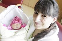 Gabriela Dimovová  se narodila 13. dubna v 9:09 hodin. Vážila 2970 gramů. Maminku Gabrielu u porodu podpořil tatínek Honza. Doma v Pardubicích čeká tříletý Kryštof.