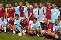 Sparta Praha přijela do Rovně 1. 8. 2009 a aktuální povídání s Horstem Sieglem.