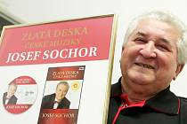 Josef Sochor se Zlatou deskou