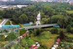 Sporný úsek trasy, přechod obchvatu přes Chrudimku poblíž Červeňáku