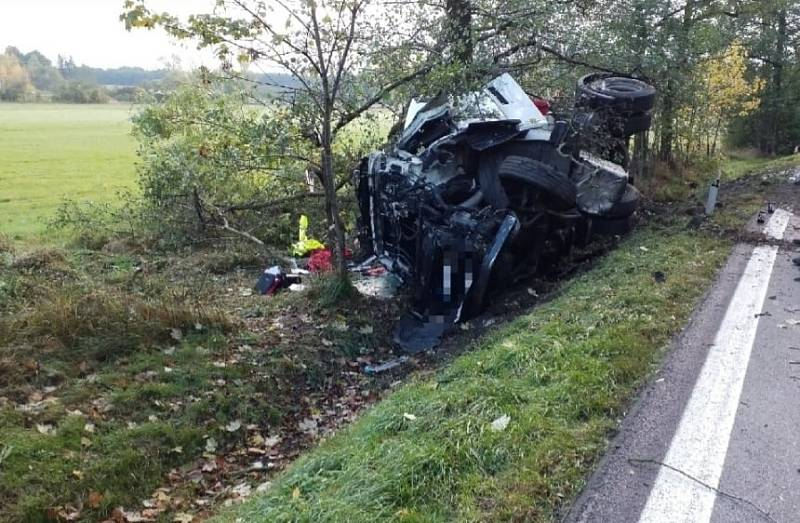 Tragická nehoda u Chvojence, 13. 10. 2021