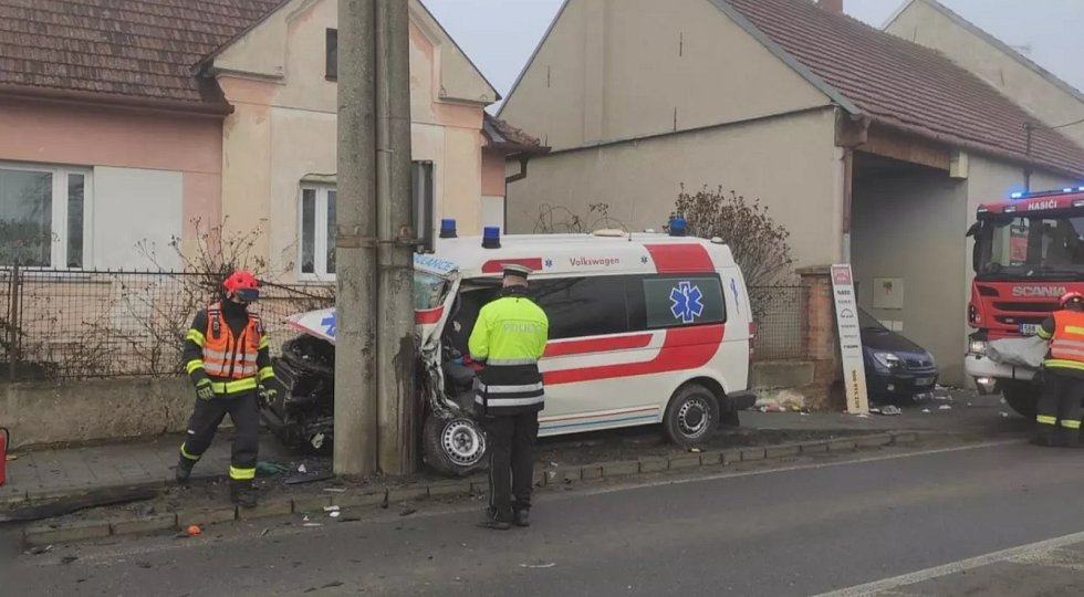Nehoda Vojkovice na Brněnsku
