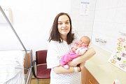Ludmila Valtrová se narodila 21. 10. v 10:03 hodin. Holčička vážila 3340 gramů a měřila 49 centimetrů. Je prvním dítětem maminky Johany a tatínka Ondřeje. Rodina žije v Pardubicích.
