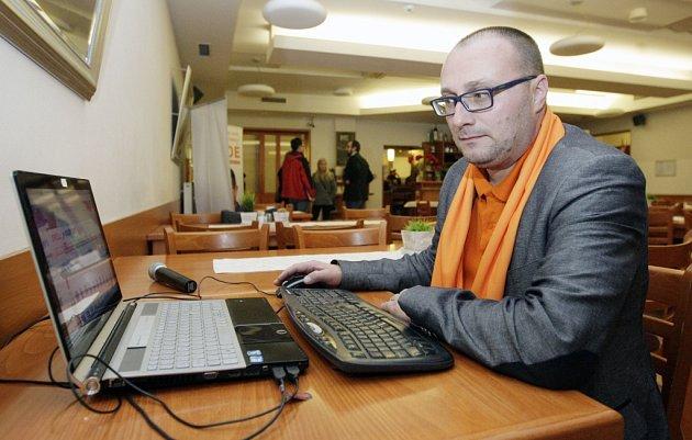 Krajský volební manažer a okresní šéf ČSSD Leoš Malina.