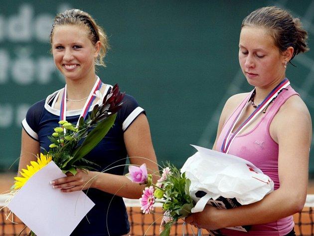 Klára Kopřivová a Dominika Kaňáková
