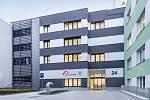 Nová budova klinické onkologie, která stojí v areálu pardubické nemocnice. Foto: archiv společnosti Multiscan