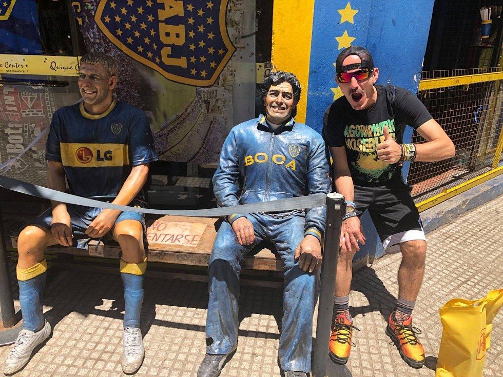 Miloslav Urbanec se vydal na fotbal do Argentiny