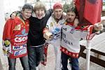 I v Brně se hokejisté mohli spolehnout na podporu svých fanoušků.
