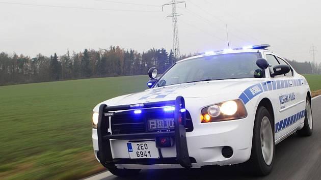 Dodge Charger městské policie Lázně Bohdaneč