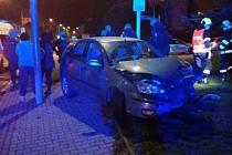 Dopravní nehoda v Přelouči