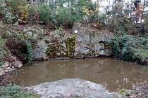 Les u Horních Raškovic skrývá Bezednou jámu.