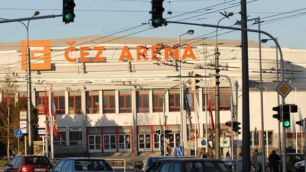ČEZ Arena v Pardubicích.