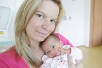 Barbora Tesařová se narodila 12. května v 16:26 hodin. Měřila 44 centimetry a vážila 2230 gramů. Maminku Michaelu podpořil u porodu tatínek Robert a doma v Moravské Třebové čekají ještě bráchové dvojčata Robert a Tomáš (2).