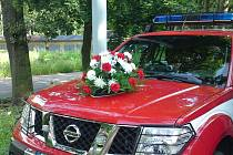 Hasiči uctili památku svých kolegů, kteří zemřeli při výkonu služby před 27lety.