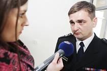 Policejní prezident Martin Červíček v Pardubicích