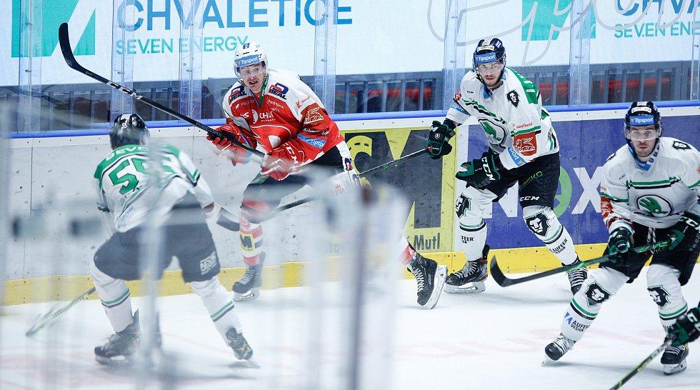 Hokejová extraliga: HC Dynamo Pardubice - BK Mladá Boleslav.