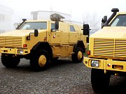 Dinga, nová obrněná auta pro české vojáky