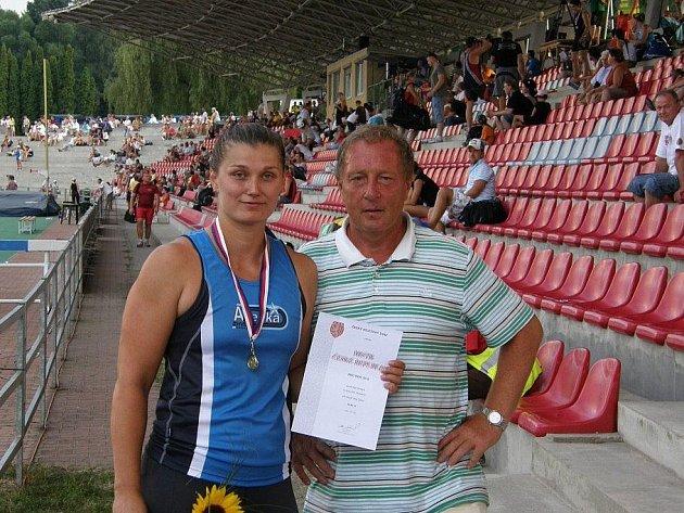 Jana Kárníková a Pavel Studnička