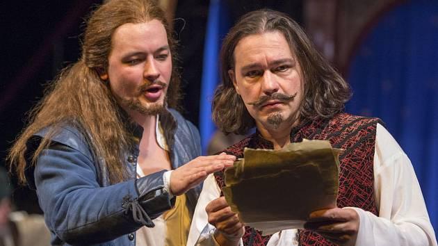 Z představení Zamilovaný Shakespeare