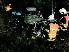 Tragicky skončil střet osobního auta s nákladním