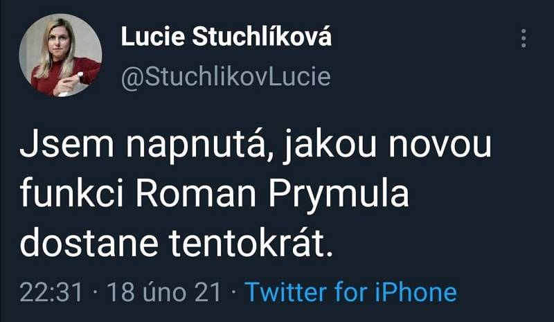 "Roman Prymula a ""kauza Slavia"""