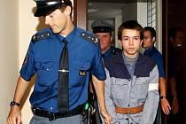 Petr Giňa před soudem
