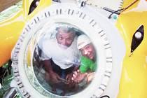 Pardubáci si v Hondurasu vyzkoušeli hlubinnou ponorku