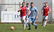 Fotbalová FORTUNA:NÁRODNÍ LIGA: FK Pardubice - 1. SK Prostějov.