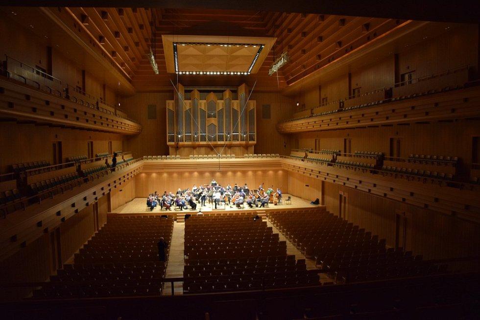 Komorní filharmonie Pardubice se vydala do Japonska.